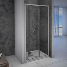 AICA 700/760/800/860/900/1000mm Bifold Shower Door Enclosure 5mm Glass Sreen BR