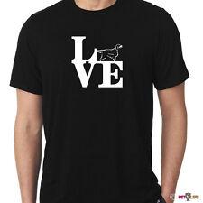 Love Gordon Setter Tee Shirt park