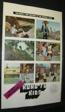 Original KUNG FU KIDS Martial Arts