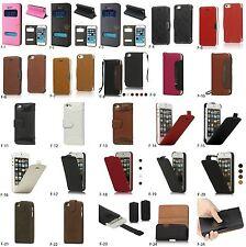 Leder Tasche mit Verschieden-Oberfläche und Design für iPhone SE / 5S /  5