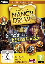 Un cas de Nancy Drew-malédiction dans un studio-wimelbildspiel-pc jeu-NEUF