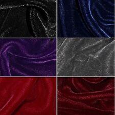 Luxurious Soft Triple Velvet 100% Polyester Dressmaking Costume Craft Fabric