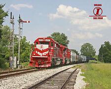 Indiana Rail Road Semaphores Logo Photo Railroad Metal Sign