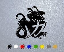 STICKER PEGATINA DECAL Chinese Dragon Helmet Michael Schumacher