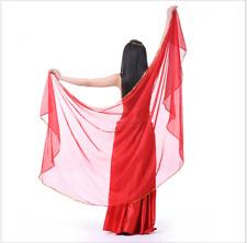 250x120CM Half Circle Scarf Shawl Veil Belly Dance Costumes Dancewear 12 colors