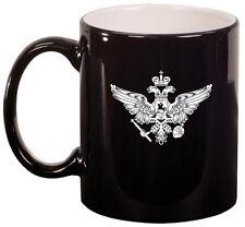11oz Ceramic Coffee Tea Mug Glass Cup Russia Russian Eagle