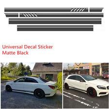Car Racing Stripe Top Side Stripe Skirt Roof & Hood Decal Vinyl Graphics Sticker