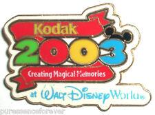 WDW Kodak Creating Magical Memories 2003 Gift Pin