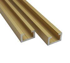 Aluminium CProfil M8 Alu C Profil Gold Edition 0,5m 1m 1,5m 2m T Nut Schiene