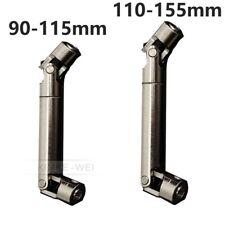 2x Einziehbar Antriebswelle Kardanwelle für RC Crawlers 90-115mm / 110-155mm Neu