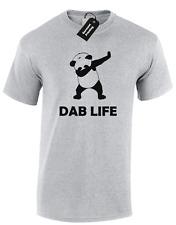 DAB LIFE PANDA MENS T SHIRT COOL DABBING HIPSTER TUMBLR FASHION CULTURA RETRO