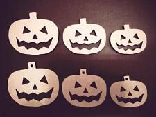 Laser Cut Halloween Pumkin Embellissements MDF Craft 40,50,60,80.100 mm