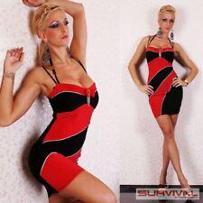 Womens Sleeveless Mini Ladies Dress New Sexy Size 6 8 10 12 Hot Club Wear Party