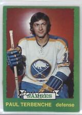 1973-74 O-Pee-Chee #229 Paul Terbenche Buffalo Sabres Hockey Card