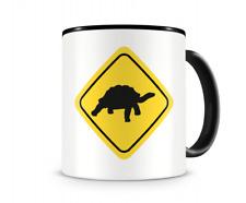 Landschildkröten Warnschild Tasse Kaffeetasse Teetasse Kaffeepott Kaffeebecher