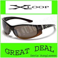 Men's Designer X Loop Sunglasses XL31403 UV400 Davis A1