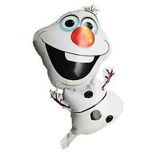 Olaf Muñeco de nieve frozen Temática Fiesta Cumpleaños METALIZADO aire o helio