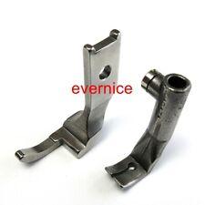 Cylinder Left Toe Zipper Walking Foot Set For Pfaff 145 195 335 545  40474+40475