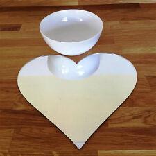 a forma di cuore Set tovaglietta - Mirroring