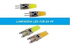 LAMPADA LAMPADINA LED COB SILICONATA ATTACCO G4 3W G9 5W LAMPADINA LED G4 G9