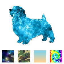 Norfolk Terrier Dog - Vinyl Decal Sticker - Multiple Patterns & Sizes - ebn1984