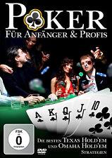 DVD Poker Texas Hold'em und Omaha für Anfänger und Profis