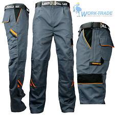 Arbeitshose Arbeitskleidung Hose Grau Schwarz Orange Profi Qualität Gr. 46 - 60