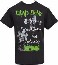 MENS BLACK T-SHIRT DEAD BOYS AMERICAN PUNK ROCK STIV BATORS CBGB 1977 S - 5XL