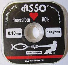 Fluorocarbon Asso di Cuori - Invisible Monofilo Cuori Fluorocarbon Fishing Line