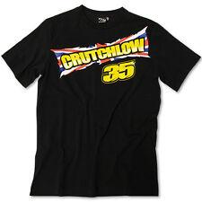 Cal Crutchlow UK Flag 35 Black T-shirt Official MotoGP Merchandise Union Jack