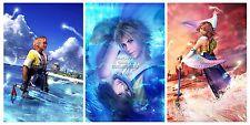 RGC Huge Poster - Final Fantasy X X-2 Yuna Tidus PS2 PS3 PS4 PSP - FFXSET2