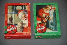 Coca- Cola Playing Cards Santa Claus 2 Decks Unopened