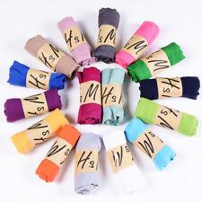Womens Long Schal Weiche Seide Chiffon Wrap Schal Pashmina Schals Candy Farbe