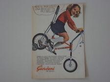 advertising Pubblicità 1973 BICICLETTA TEXINA GIORDANI