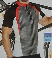 Cycling Bike Jersey Sport MTB Grey Black White Red Men Unisex M L XL