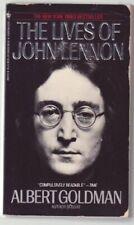 The Lives of John Lennon by Goldman, Albert Paperback Book The Cheap Fast Free