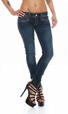 HERRLICHER - PIPER SLIM - D9668/051 - Röhre / Blau Damen Jeans Hose