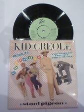 "KID CREOLE & THE COCONUTS - Stool Pigeon - 1982 UK 7"""