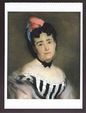 EVA GONZALES Portrait of the Artist's Mother ART ARTWORK PAINTING POSTCARD