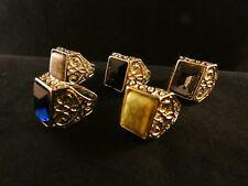 24 Karat Vergoldet Großer Prunk Damenring Ring Schmuckmetall Barock Stil Gold