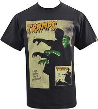T-Shirt Homme Noir The Cramps gorehound album Frankenstein horreur Garage S-5XL