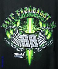 Dale Earnhardt Jr Hendrick Motorsports Official NASCAR T Shirt Black Green