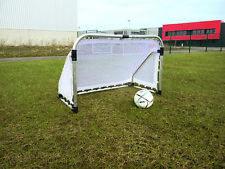 Aluminium Fußballtor Faltbar + Netz Fußball Tor Garten 120x80 cm NEU