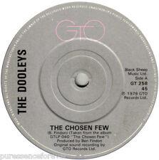 "THE DOOLEYS - The Chosen Few (UK 2 Tk 1979 7"" Single)"
