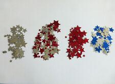 100 Sterne  Streuelemente  Streudeko  Kartengestaltung Basteln  Rot ca.17mm
