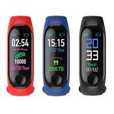 M3 Sports Blood Pressure Step Counter Waterproof Fitness Digital Smart Bracelet