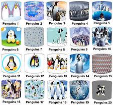 Pantallas de Lámpara Para Combinar infantil pingüino Cojines & Pingüino
