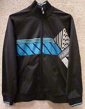 """Quicksilver Boy's Zip up Jackets """"Tennenbaum"""" -- Color Black , Size M"""