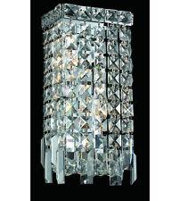 Palace Park Ave  2 Light Rectangle Crystal chandelier Wall Sconce Light