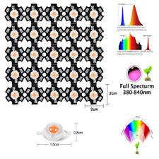 1w 3 watt full spectrum 380nm~840nm led grow chip , bridgelux 20mm base PCB